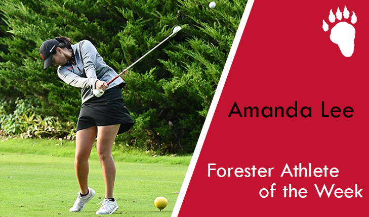 Amanda Lee Named Forester Athlete of the Week