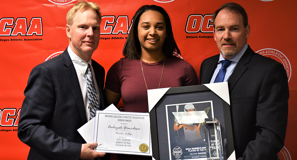 AALIYAH DAVIDSON NAMED 2017 OCAA PLAYER OF THE YEAR