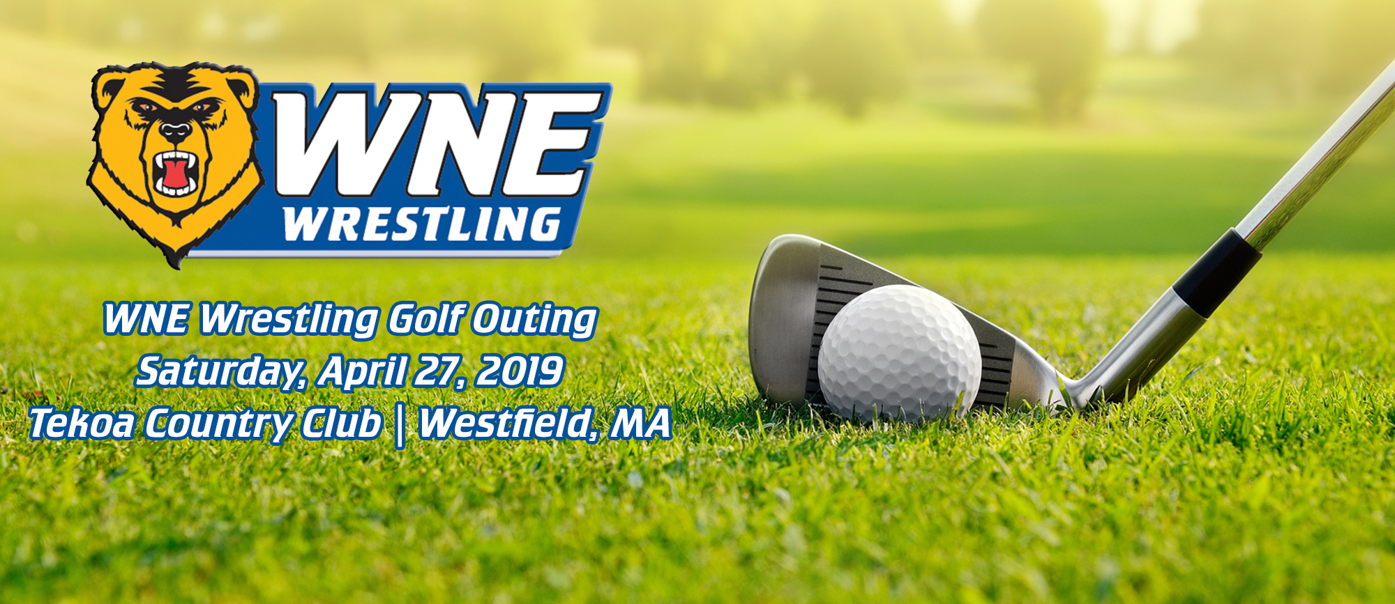Registration Now Open for WNE Wrestling's Annual Golf Outing on Saturday, April 27