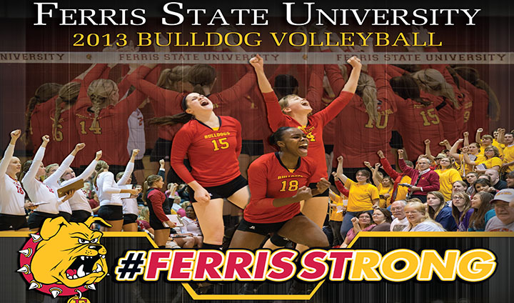 2013 Ferris State Women's Volleyball Yearbook