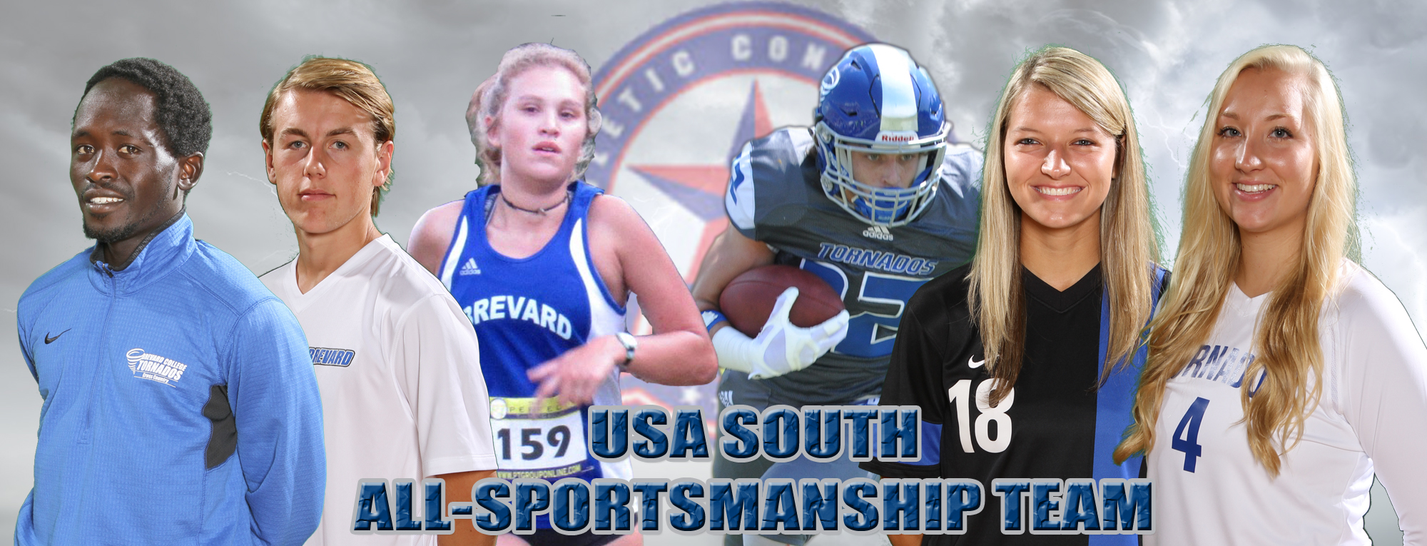 Six Tornados Receive All-Sportsmanship Accolades from USA South