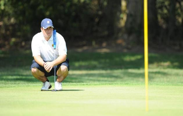 Coker Men's Golf in Ninth Place at Cougar Invite.