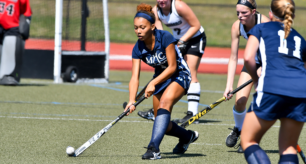 Photo of sophomore field hockey player Micaela Pierce