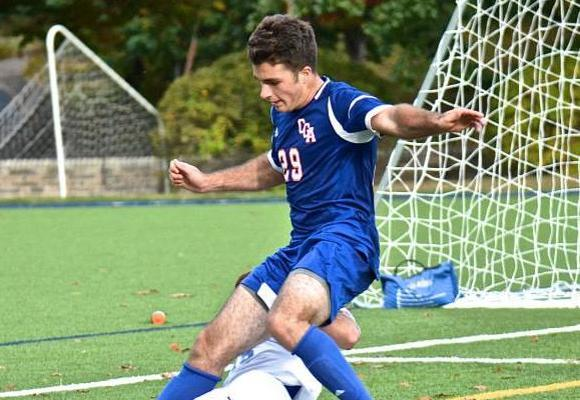 Men's Soccer Can't Hold Early Lead, Fall to WPI 3-2 in Double OT