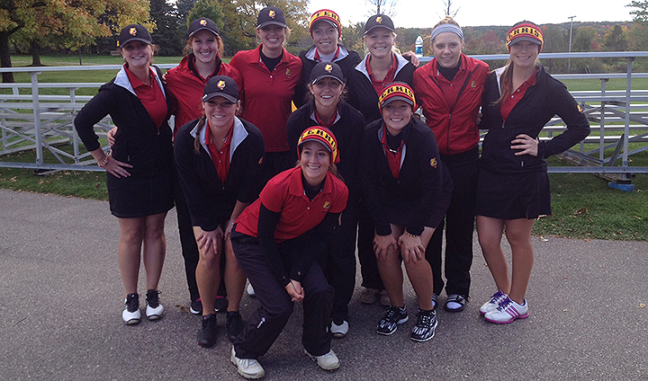 Ferris State Women's Golf Third After Day One At GLIAC Championships