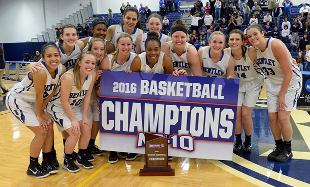 Bentley Reclaims the Throne, Tops AIC for NE-10 Women's Basketball Title