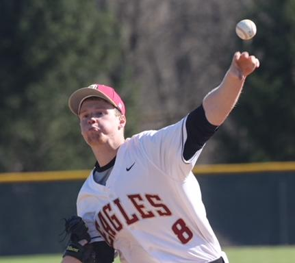 Andrew Berry struck out 11 batters in six innings against SUNY Oneonta.