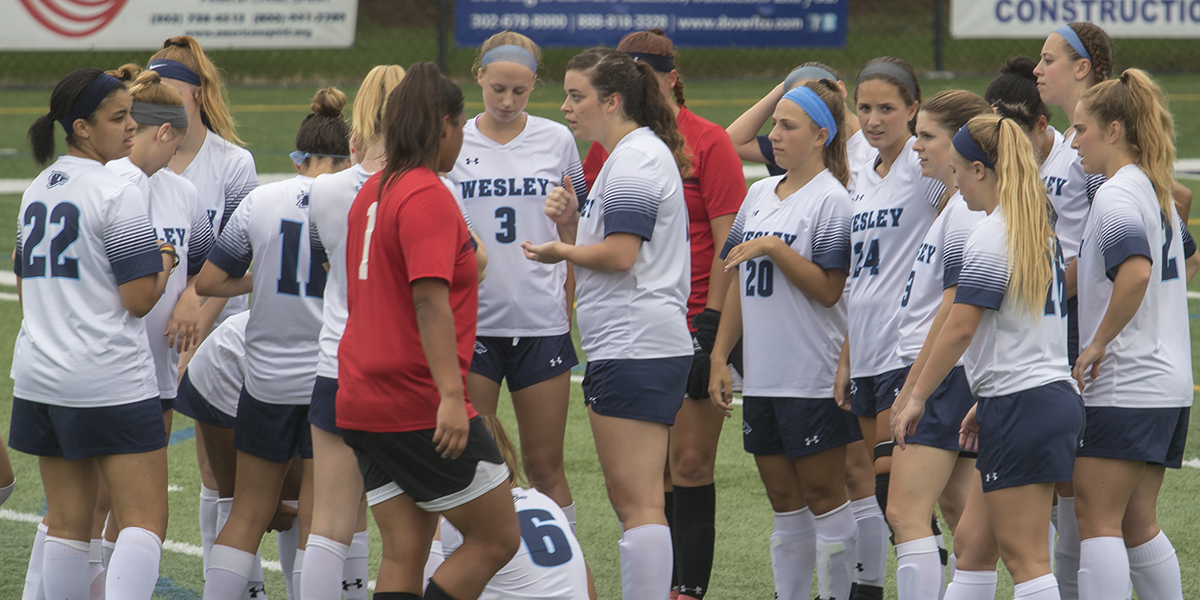Women's Soccer falls in back-and-forth battle to Marywood in Atlantic East Semifinals