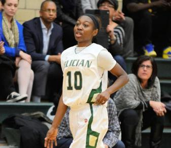 Senior guard Sharnese Scott. (Steven R. Smith)