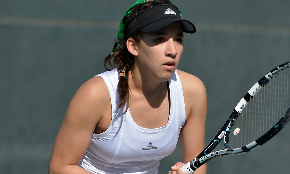 WOMEN'S TENNIS BATTLES TOUGH MINNESOTA TEAM BUT COMES UP SHORT ON THE ROAD