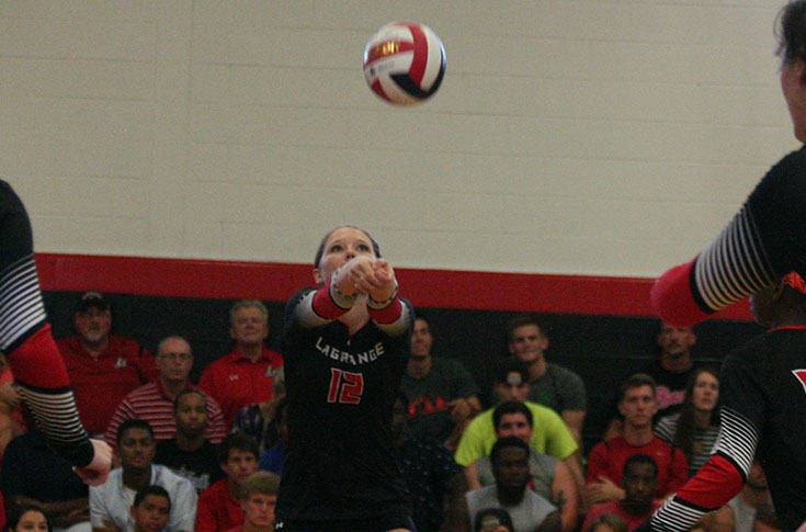 Volleyball: Panthers take two-time defending USA South champs Maryville to five sets