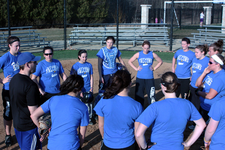 Softball picks up first win at NTC Spring Games