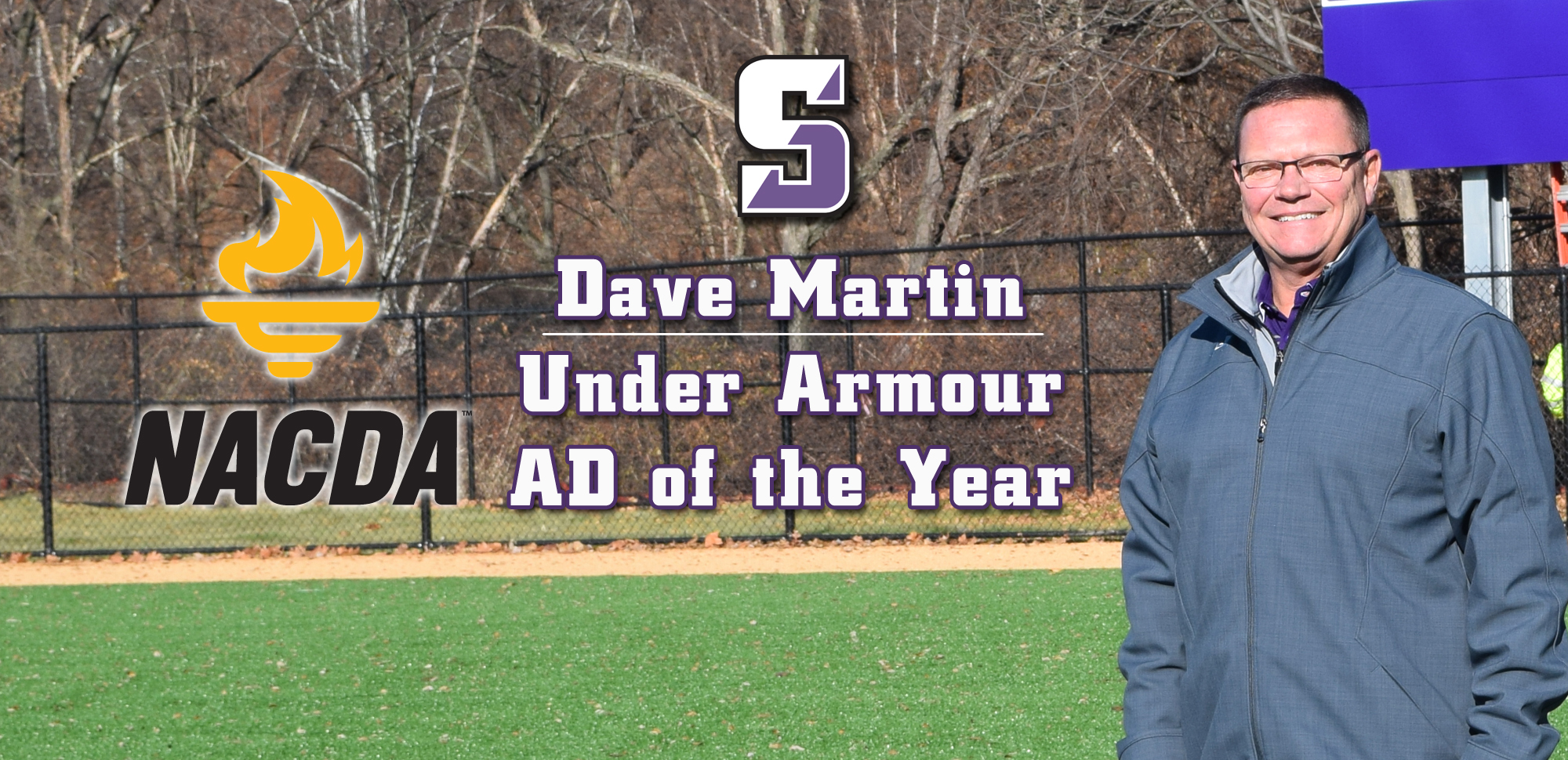 Martin Named NACDA/Under Armour Athletic Director of the Year