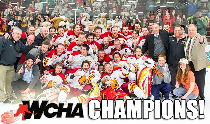 Ferris State Hockey Claims WCHA Regular-Season Championship