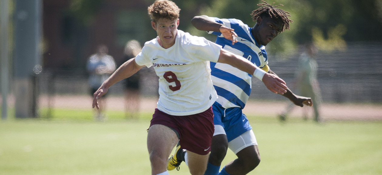 Powell's Late Tally Lifts Men's Soccer Past MIT, 1-0