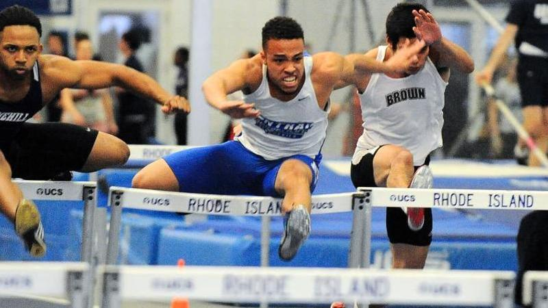 Men's T&F Concludes Competition at New England Championships