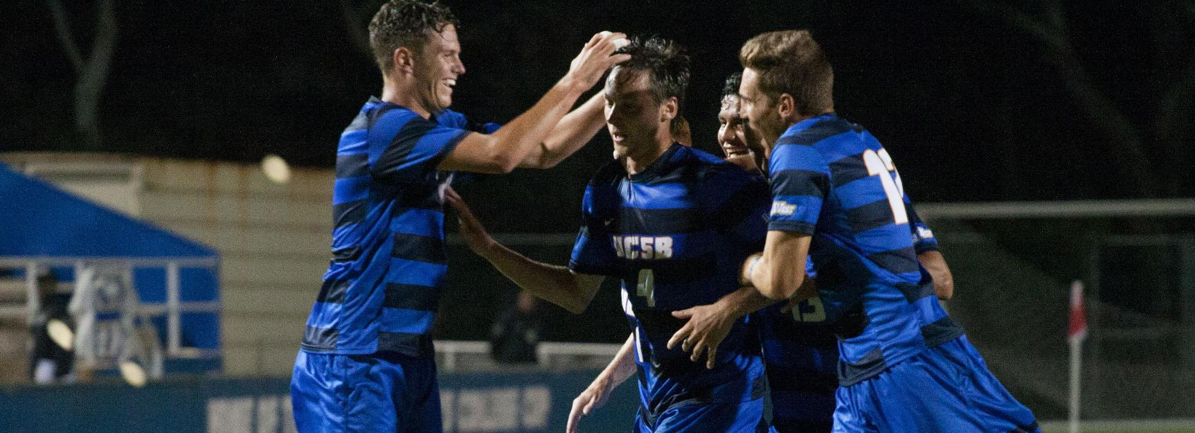 Gauchos Earn No. 10 National Seed, Will Receive First Round Bye in NCAA Tournament