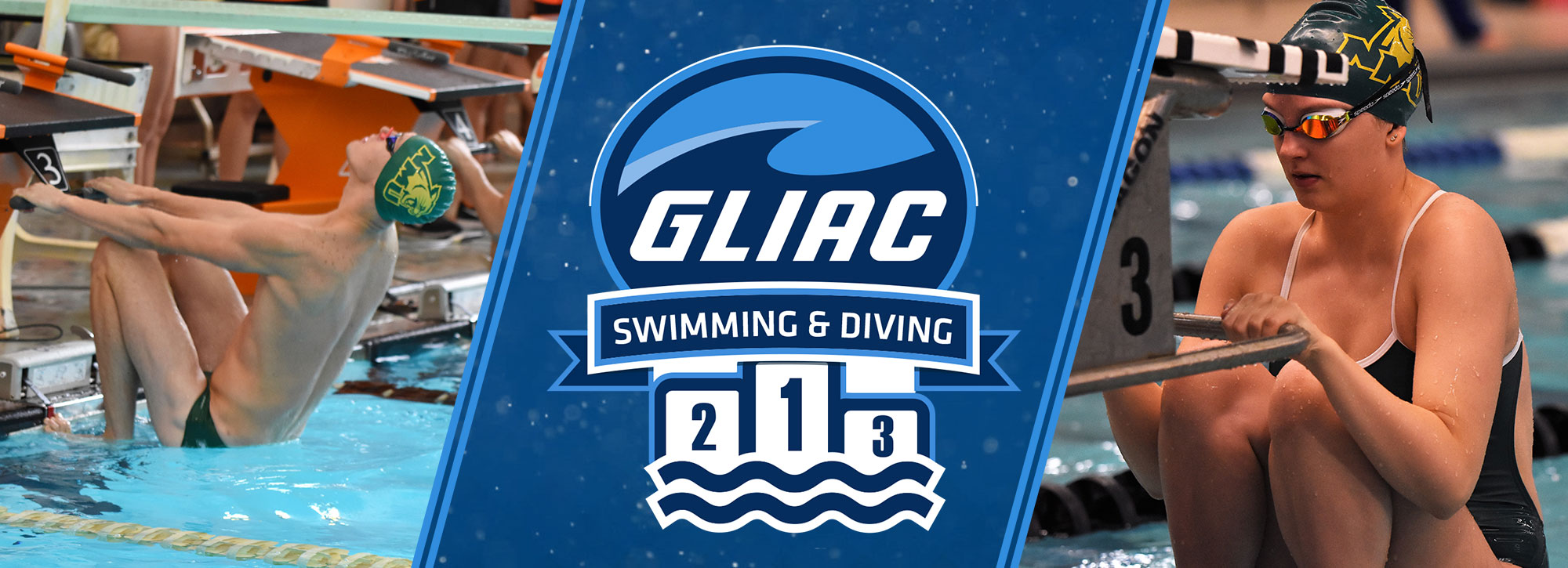 Northern Michigan's Helm, Bundzis Sweep GLIAC Swimming Athlete of the Week Awards