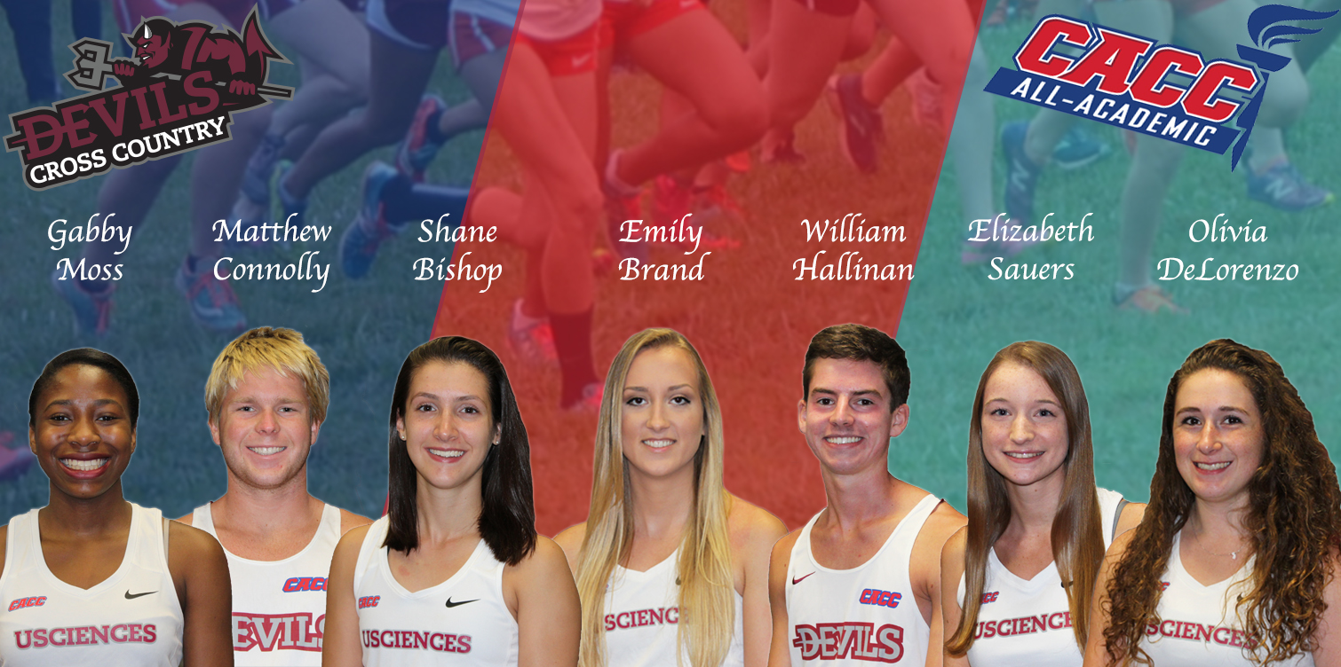 Seven USciences Runners on CACC Cross Country All-Academic Teams