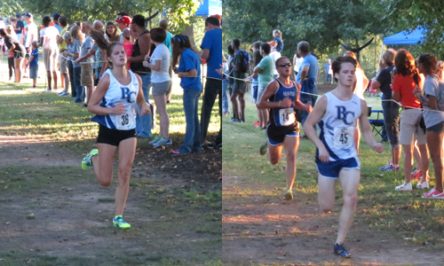 The freshmen duo paced their respective squads