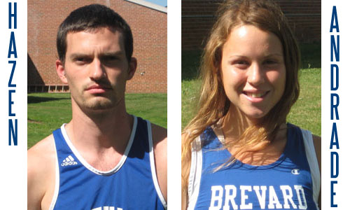 Hazen and Andrade were the top runners for BC at the L-R Invitational.