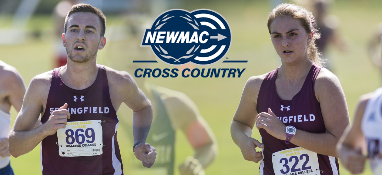 Tringali and Wunderlich Selected to NEWMAC Cross Country All-Sportsmanship Team