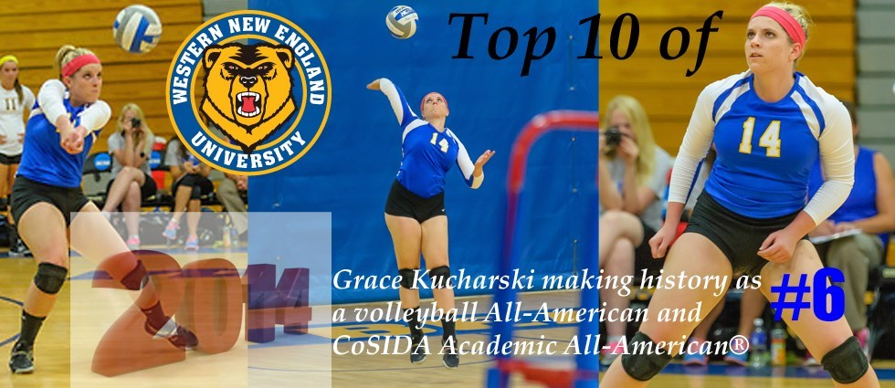 Top 10 of 2014: #6 is Grace Kucharski Recognized Nationally Both On and Off Court