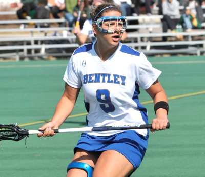 Bastien's Last Second Goal Gives No. 7 Bentley Dramatic 13-12 Win over Molloy