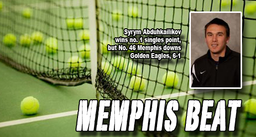 Tech opens weekend with 6-1 loss at No. 46 Memphis