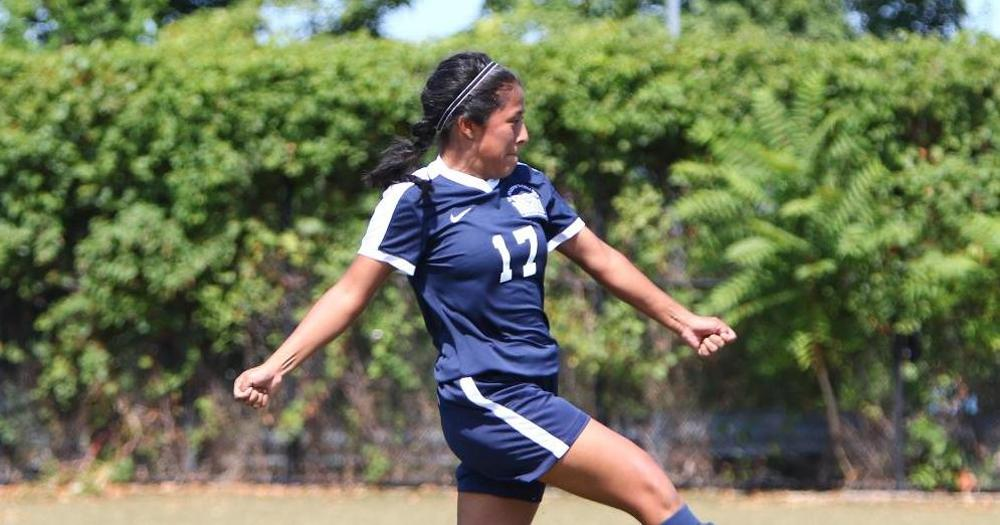 Maritime Sails By Women's Soccer With Late Goals