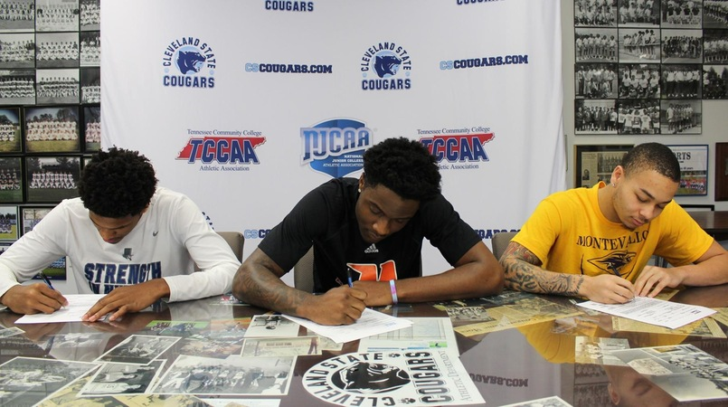 Curry, Copeland and Olison Sign Letters of Intent