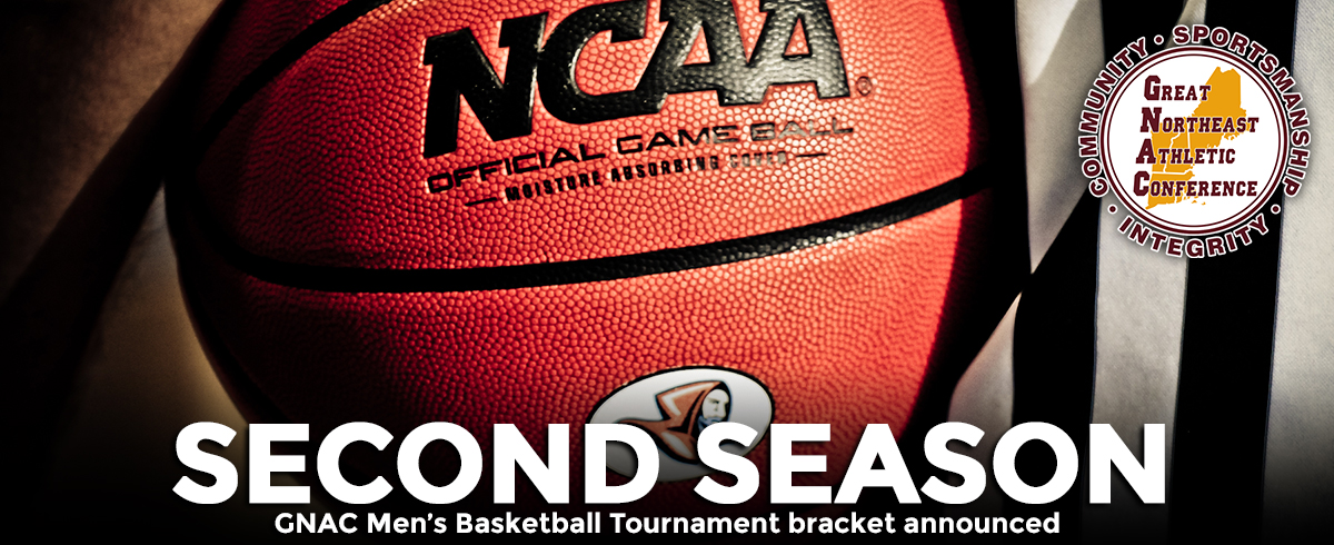 Men Earn #5 Seed in 2017 GNAC Basketball Tournament