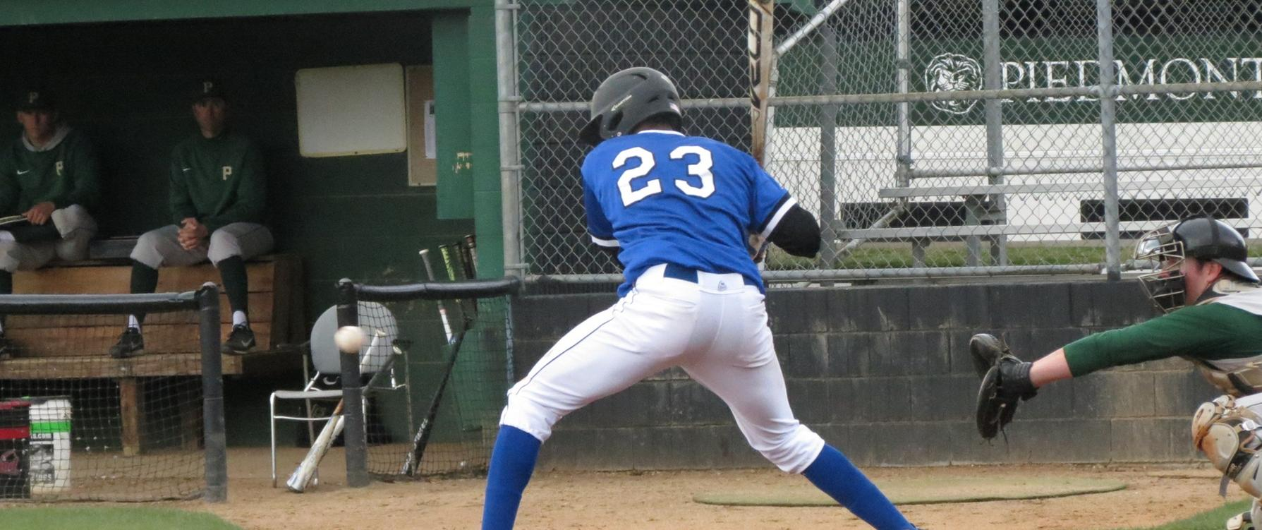 Scavotto's Stellar Debut Helps Brevard Earn Doubleheader Split Against William Peace
