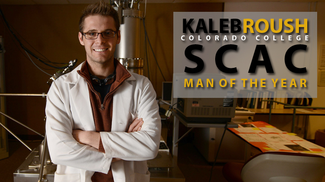 Colorado College's Roush Selected SCAC Man of the Year