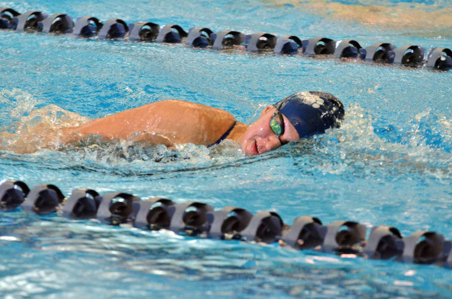 Women's Swimming and Diving Edged By Chatham