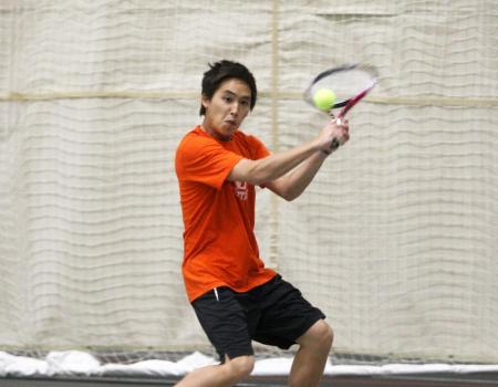 Men's Tennis clinches share of OAC regular season title with 9-0 win over Capital