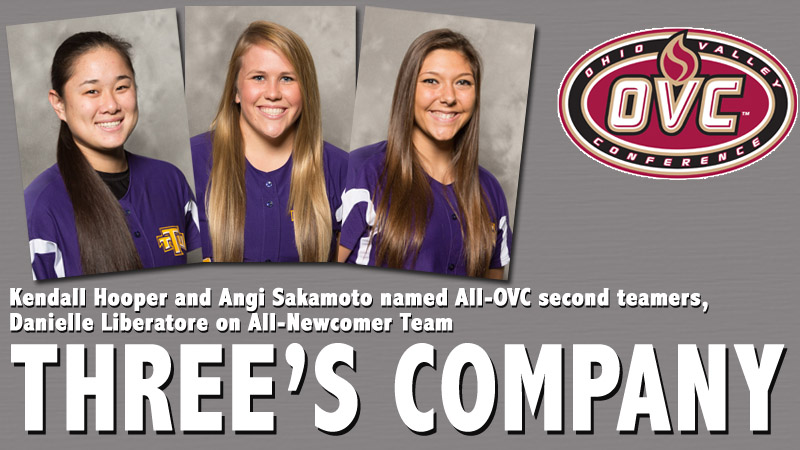 Tech's Hooper and Sakamoto named All-OVC second teamers, Liberatore on All-Newcomer Team