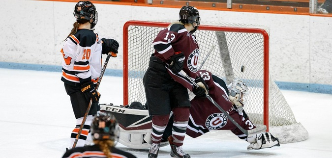 Connors scores twice as Princeton upends Union