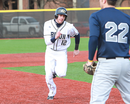 Bissell finishes a double shy of a cycle in 14-9 loss to Rutgers-Camden