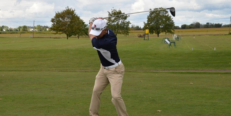 Men's Golf 8th After Opening Round of Motor City Invite