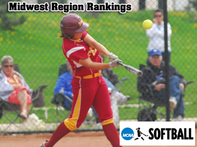 Bulldogs Remain 10th Place In NCAA Softball Midwest Region Rankings