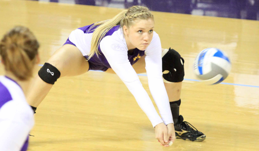 Golden Eagles battle in OVC semifinals, fall in four sets