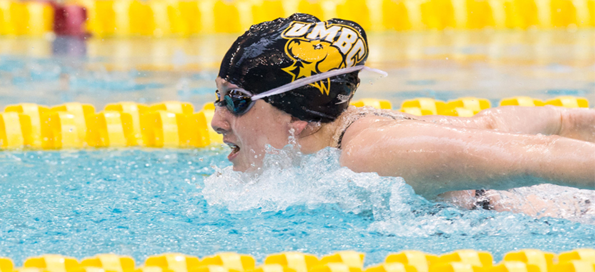 Escobedo Leads UMBC Swimming and Diving Against East Carolina