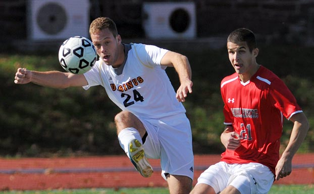 Men's Soccer drops 2-1 decision to Muhlenberg