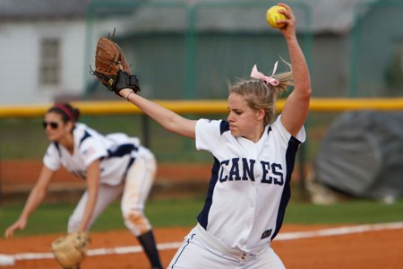 Lady 'Canes split twinbill at Lander