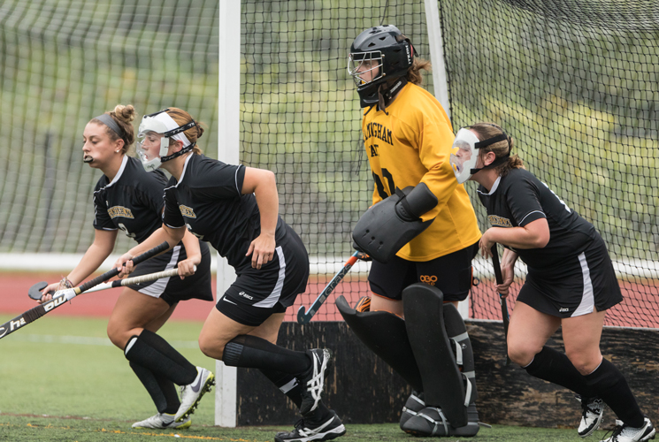 Keene State Storms Past Field Hockey 8-0 in Little East Action