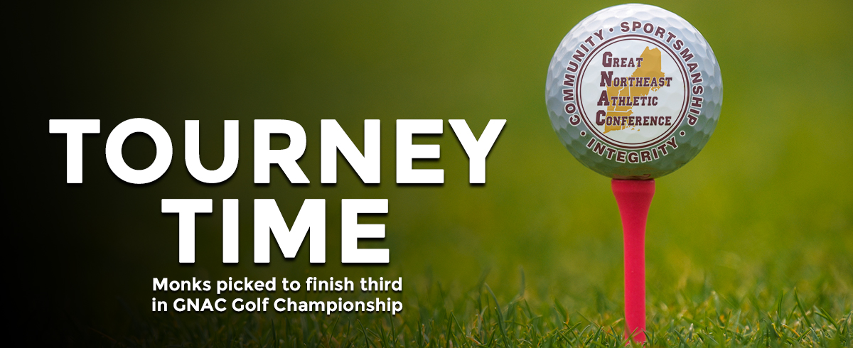 Monks Picked to Finish Third in GNAC Golf Championship