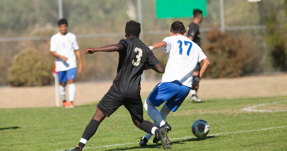 Mariners Men's Soccer Upended By Napa Valley College 2-1