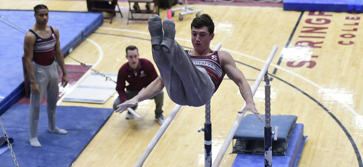 Army Edges Men's Gymnastics Despite Career-Best Showings From Lamberton and Lewis