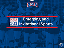 Emerging and Invitational Sports video